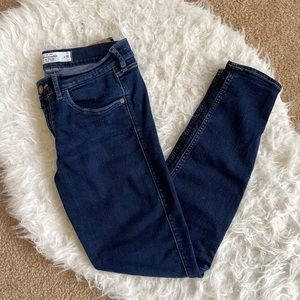 Abercrombie Dark Washed Skinny Jeans